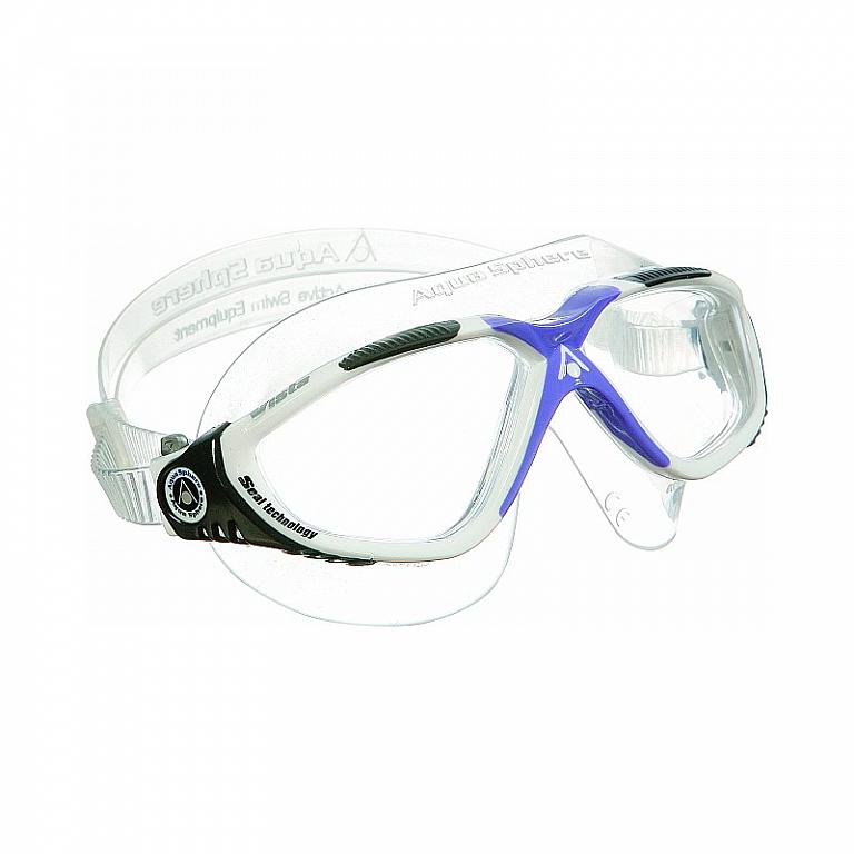 5b8bd1ea1 Plavecké okuliare Aqua Sphere VISTA Lady číre sklá   Potápačské ...